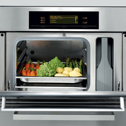 Steam Oven With Convection Steam Cooking - Having a steam oven is a great addition for a cooks kitchen, it allows a whole new dimension in flavorful, healthy cooking.