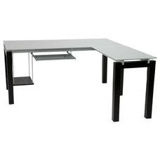 Modern Desks And Hutches Modern L-Shaped Desk