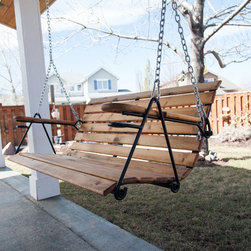 Outdoor Porch Swing - Erin Thames Photography
