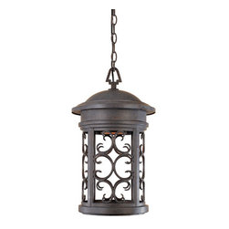 """Designers Fountain - Designers Fountain 31134-MP 1 Light 11"""" Hanging Lantern from the Dark Sky Barrin - Features:"""