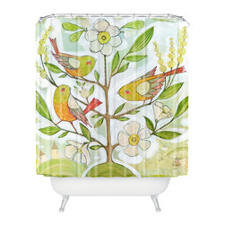 DENY Designs - Cori Dantini Community Tree Shower Curtain - Who says bathrooms can't be fun? To get the most bang for your buck, start with an artistic, inventive shower curtain. We've got endless options that will really make your bathroom pop. Heck, your guests may start spending a little extra time in there because of it!