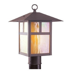 Livex Lighting - Livex Montclair Mission Outdoor Post Head Bronze -2140-07 - Livex products are highly detailed and meticulously finished by some of the best craftsmen in the business