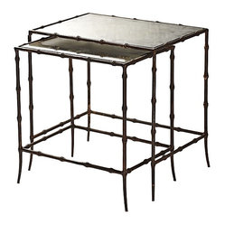 Mirrored Nested Tables Products on Houzz