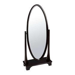 Cooper Classics - Cooper Classics Oxford Cheval Mirror, Tobacco - Complete your home's decor with the stunning Oxford cheval mirror. This beautiful cheval mirror boasts a gorgeous tobacco finish that will add style to any decor.