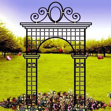 Gazebos by architectural traditional  metal  iron work