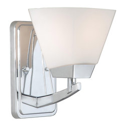 Vaxcel - Kendall Chrome Wall Sconce - Vaxcel KD-VLU001CH Kendall Chrome Wall Sconce