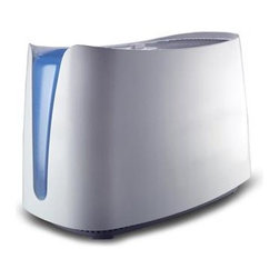 Kaz Inc - Honeywell Cool Mist Humidifier - The Honeywell Cool Moisture Humidifier helps temporarily relieve dry air discomforts for better home comfort. UV technology kills up to 99.9% of certain bacteria  mold  fungus and virus in the water after 2 hours of continuous use. This provides the assurance that the moisture emitted from the unit is virtually free of germs.   Patented Germ Killing Technology kills up to 99.9% of certain bacteria  mold  fungus and virus in the water; Quiet Operation - Up to 25% Quieter than other evaporative humidifiers; Durable break resistent water tank; Dishwasher safe water tank and tray; Self Regulating Evaporative System. Adjusts output to the amount of moisture the air can hold at a particular temperature; Protec Antimicrobially Treated Filter; Perfect for Medium Size Rooms such as Bedrooms and Living Rooms; Runs up to 24 hrs per filling.  This item cannot be shipped to APO/FPO addresses. Please accept our apologies.
