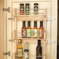 KITCHEN CABINET SPICE RACK - Call us for an estimate!