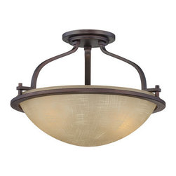 Designers Fountain - Designers Fountain 83611 2 Light Semi-Flush Mount Ceiling Fixture from the Caste - Features: