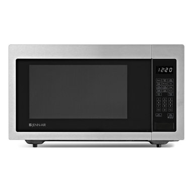 Jenn-Air Built In / Countertop Microwave, Stainless Steel | JMC1116AS - Electronic Touch Controls Popcorn Function Kitchen Timer One-Touch Start Add 30 Seconds Touch Pad Control Lockout Seamless Flat Front Design