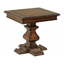 Ambella Home - New Ambella Home End Table Oak Rectangle - Product Details
