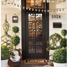 Traditional Outdoor Holiday Decorations by Pottery Barn