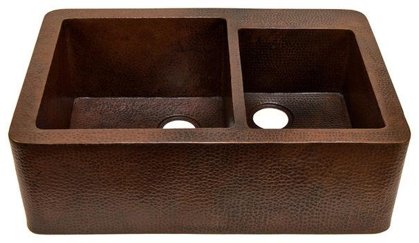 Traditional Kitchen Sinks by Artesano Copper Sinks