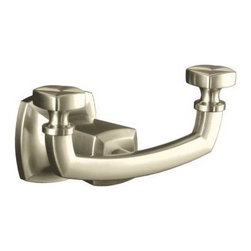KOHLER - KOHLER K-16256-BN Margaux Robe Hook - KOHLER K-16256-BN Margaux Robe Hook in Brushed Nickel