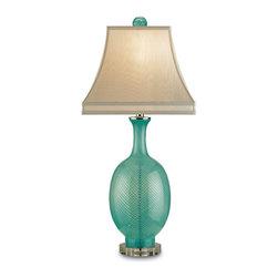 Cyan Design - Cyan Design 06074 Matte White Medium Vanilla Swirl Vase - 1 Bulb, Bulb Type: 100 Watt Edison; Weight: 8lbs