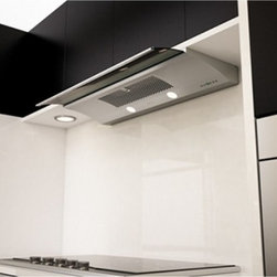 Zephyr - Zephyr 36W in. Genova Under Cabinet Range Hood Multicolor - ZGE-E36AS - Shop for Hoods and Accessories from Hayneedle.com! Elegant in style the Zephyr 36W in. Genova Under Cabinet Range Hood is a workhorse that's sure to get the job done in your kitchen for years to come. This arching range hood features a retractable visor that not only captures air but activates the lamps and fans with just a tug. A touch-sensitive control panel is also just in reach to let you dial in the features to your liking with a tap. The 3-speed fan can circulate up to 500 cubic feet of air to be safely filtered through aluminum mesh. The modern look of this range hood is tied together skillfully by a gleaming stainless steel finish.About ZephyrSince 1997 Zephyr has remained true to their vision of delivering the unexpected. Founder Alex Siow embraced the idea that a kitchen hood could do much more than vent air it could be as distinctive in its design as in its performance. Zephyr was first to recognize the demand for powerful professional-grade hoods for the home that were also beautiful. They answered the call with their Power Series of high CFM range hoods that put air quality concerns to rest with quiet efficiency. Zephyr raised the bar with self-cleaning filter-free technologies. Their solid reputation for well-construction high-powered range hoods is matched by their style and design. Fashion-forward and inspired their lines of range hoods include original works from renowned designers Robert Brunner Fu-Tung Cheng and David Lewis.