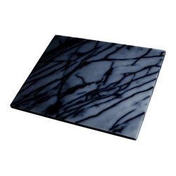 Black Marble Pastry Board - Contrary to the traditional marble boards, this sleek all-black version is sure to break a few hearts with envy.
