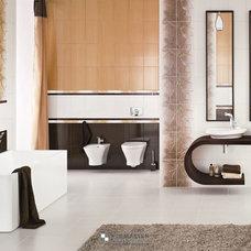 Contemporary  by POLMASTER Tile Centre + 3D Design Studio