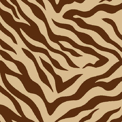 "Infinity Home Source - Kings Court Zebra Brown 2' x 3'3"" Infinity Home Area Rug (2501) - Rich jewel tones brighten your space while a looped nylon pile means your rug won't shed and is easy to clean, even machine washable. This machine made rug has a highly resistant low pile and non-skid rubber backing, giving you a longer lasting product. With the King's Court Collection you can spend more time enjoying your palace and less time waiting for the cleaners."