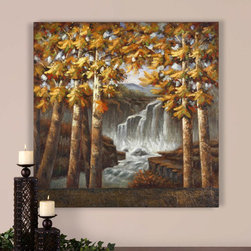 "32185 Autumn Falls by Uttermost - Get 10% discount on your first order. Coupon code: ""houzz"". Order today."