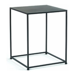 TFG Furniture - Urban End Table in Coco - TFG Furniture Urban End Table in Coco. Urban End Table in Coco. Urban tables are constructed with solid steel rods and steel plate tops. Tables feature a beautiful and durable powder coat finish in Coco. Sleek design is well suited for smaller spaces. No assembly required.