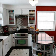 Red Retro Redo: After | Best Kitchen Before and Afters 2010 | This Old House