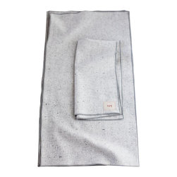 "Non-Perishable Goods - Dinner Towels Classic Collection Set of 6, 12""x23"", Natural with Pink - We believe that food tastes better and is more appreciated when accompanied by a cloth napkin! (not to mention creates less waste!)"