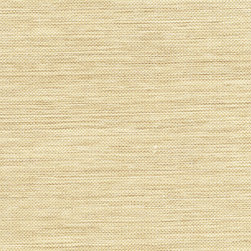 Li Ming Beige Grasscloth Wallpaper - A chic grasscloth weave in a natural whole wheat colorway.