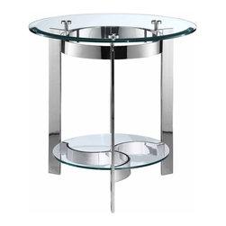 Stein World - Stein World Mercury Round End Table - Mercury Round End Table by Stein World