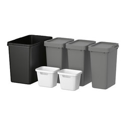 Marcus Arvonen - RATIONELL Waste sorting for cabinet - Waste sorting for cabinet