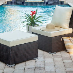 Alatri Ottoman - The Alatri ottoman is the perfect addition to any of our outdoor sets.