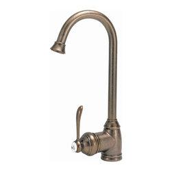 Belle Foret Model BFN260 01 Bar Sink Faucet - Single Post Mount