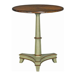 EuroLux Home - New Woodbridge Regency Side Table Round - Product Details