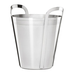 Lenox - Tuscany Classics Stainless Steel Champagne Bucket - Keep a bottle of bubbly chilled for guests in this elegant ice bucket.   10.8'' H x 9'' diameter Stainless steel Dishwasher-safe Imported