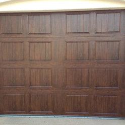 Mediterranean garage doors design ideas pictures remodel for R value of wood garage door