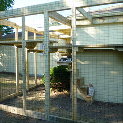 Cat Enclosure and Playground - C.K. Remodeling & Design