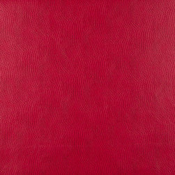 Ruby Smooth Emu Look Faux Leather Leatherette By The Yard - P7778 is great for residential, commercial, automotive and hospitality applications. This faux leather will exceed 100,000 double rubs (15,000 is considered heavy duty), and is very easy to clean and maintain.