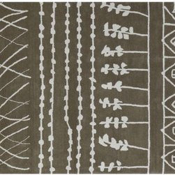 Lirico Rug - Even an abstract patten can take a backseat when it's in a neutral shade.