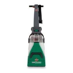 Bissell - BISSELL Big Green Deep Cleaning Machine Professional Grade Carpet Cleaner - Carpet cleaner features Rotating DirtLifter power brushes that provide great dirt removing power. It cleans in both forward and backward passes so you can clean in half the time, and it also dries faster than the leading rental carpet cleaner.