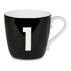 Colors Mug Number - Black