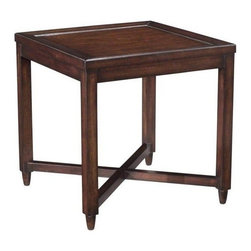 EuroLux Home - New Side Table Square Mid-Century Havana - Product Details