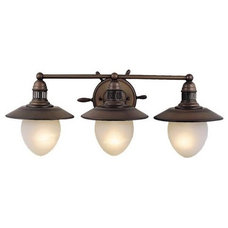 beach style bathroom lighting and vanity lighting by Amazon