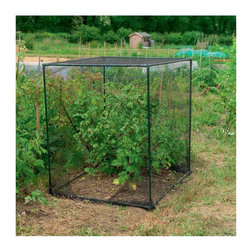 "Gardman USA - Fruit Cage Small - Fruit Cage Small. 3'3""L x 3'9""W x 3'9""H Crop protection. Made from painted tubular steel. Push fit plastic joints. Tough woven black mesh."