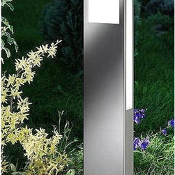 CMD - Aqua Paulo outdoor path light - The Aqua Paulo outdoor light is designed and produced by CMD. This Premium fixture is perfect or paths patios or parking spaces. It is Energy efficient and features the highest grade of V2A stainless steel. It features a satined glass. This fixture is suitable for areas which are exposed to salty air near the ocean. Quality made in Germany with a 10 years manufacturers warranty.