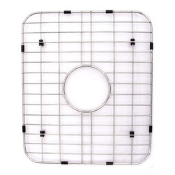 ALFI brand - ALFI GR538 Stainless Steel Protective Grid for AB538 Kitchen Sink - Protect your investment with this solid stainless steel grid that sits on the bottom of your fireclay sink. Protects the sink from nicks or cracks caused by heavy pots or pans dropped in, reduces the need for cleaning marks or stains of the bottom of the sink.