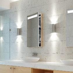 Medicine Cabinet Options from Electric Mirror - Luminous Mirrored Cabinet - Electric Mirror - Valley Light Gallery by Mustafa Deliormanli