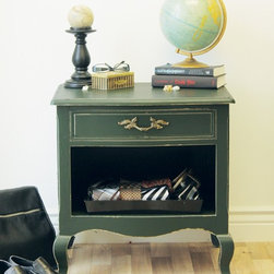 Marc's Drab To Fab DIY Projects - An old bedside table gets a masculine update