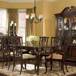 ART Furniture - Devonshire Leg Dining Room Set - ART-191235-2106-ROOM - Set Includes Table and 4 Side Chairs