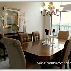 Traditional Dining Room by Sensational Home Staging & Design
