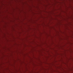Red Leaf Stain Resistant Microfiber Upholstery Fabric By The Yard - P0633 is great for all indoor upholstery applications including: automotive, residential, commercial and hospitality. Microfiber fabrics are inherently stain resistant, durable and machine washable. In addition, all of our microfiber fabrics are made in America.